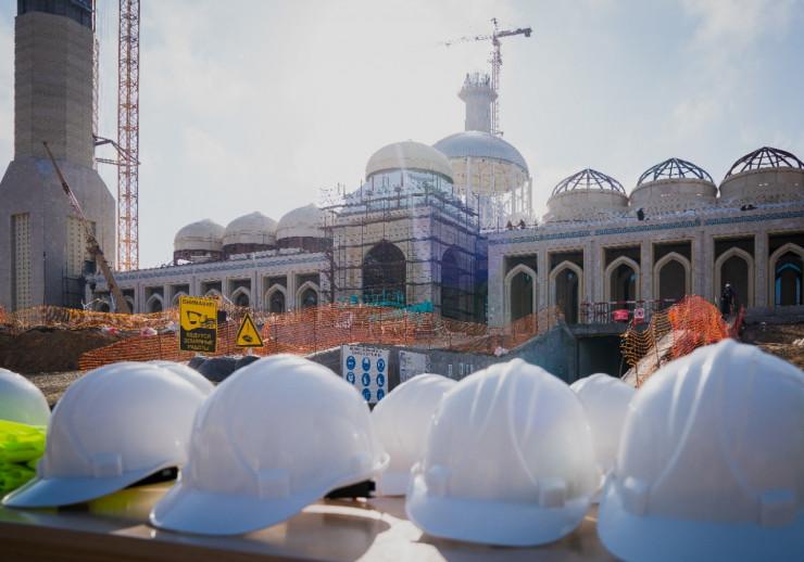 Qazaxıstanda Mərkəzi Asiyanın ən böyük məscidi inşa edilir